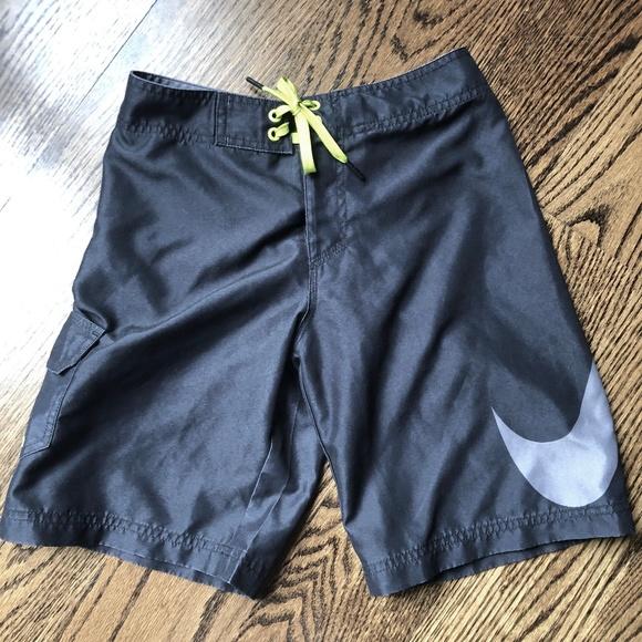 5fd650b93a Nike Boys Swim Board Shorts Size 10 black/gray EUC.  M_5cd88d138d653d87a41f3876